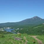 蓼科山 白樺湖