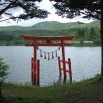 白樺湖 池の平神社