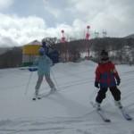 スキーレッスン ゆいかちゃん そうだい君