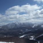 ブランシュたかやま 山頂の景色