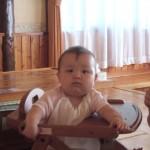 めいちゃん 赤ちゃん宿泊