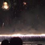 諏訪湖上花火 大ナイヤガラ瀑布