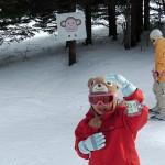 モミの木樹氷コースかんばん