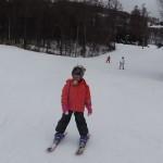 たいよう君 スキーレッスン