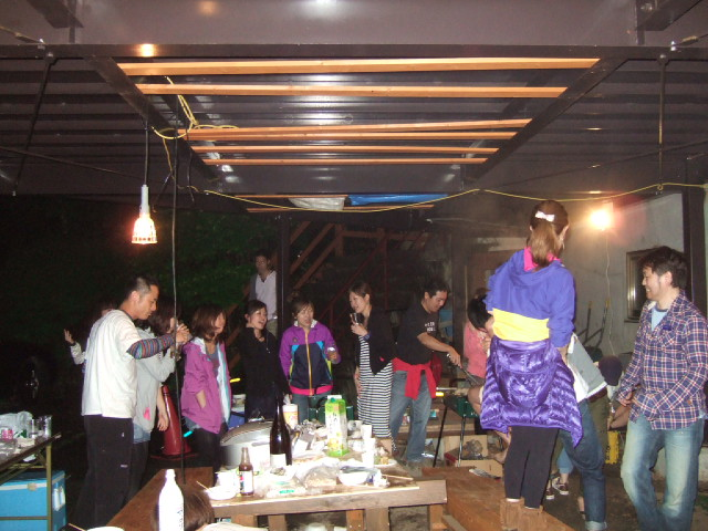 BBQ&女神湖マラソン