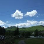 白樺湖温泉すずらんの湯からの景色
