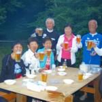 東海マラニッククラブ サマ-イン・白樺湖合宿 BBQ
