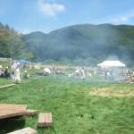 黒曜石のふるさと祭り 旧石器バーベキュー