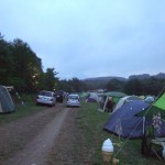 Oneness Camp 2012 テント設営場所