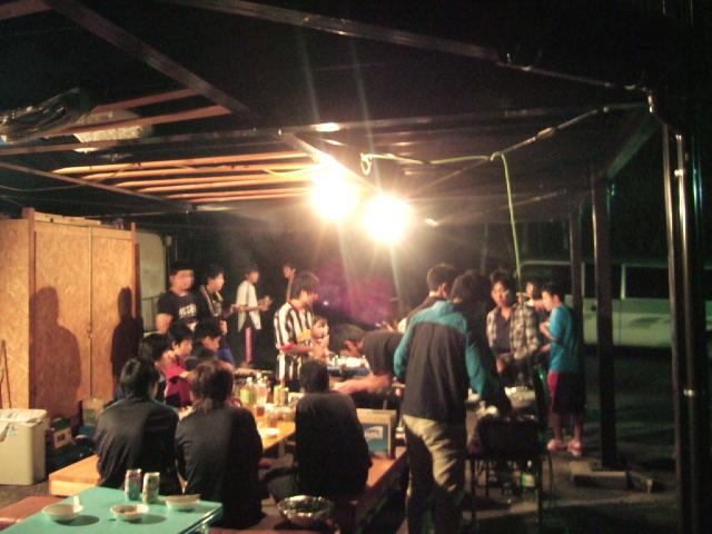 BBQ&ゼミ合宿
