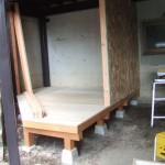 小屋DIY 壁