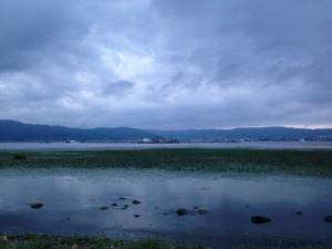 諏訪湖 新作花火2013