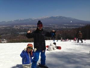 富士見パノラマ 無料スキーレッスン