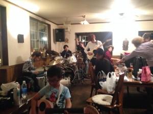 長野お泊まりライブ2015 打ち上げセッション