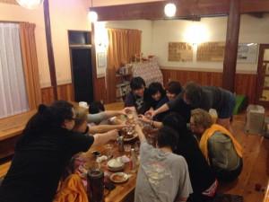 長野お泊まりライブ2015 打ち上げ2次会