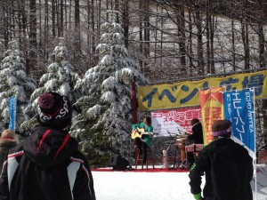 エコーバレー ひめき雪まつり&感謝祭2016 高橋ちかライブ