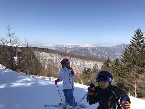 ブランシュたかやま スキーレッスン