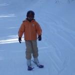 スキーレッスン けい君