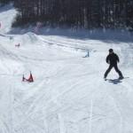 スキーレッスン なんちゃってクロス