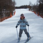 スキーレッスン ゆうちゃん