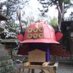 上田城跡公園 真田神社 かぶと