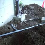 DIY 浸透桝 排水管