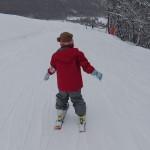 みづきちゃん スキーレッスン