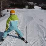 こうき君 スキーレッスン