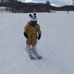 けい君 スキーレッスン