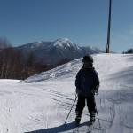 まなぶ君 スキーレッスン