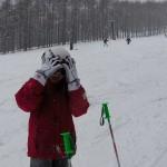 はなちゃん スキーレッスン