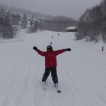 まさと君 スキーレッスン
