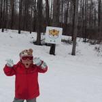モミの木樹氷コース とらの看板