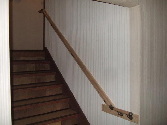 階段手すり DIY