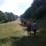 美ヶ原トレイルラン&ウォークinながわ2012 35km ブランシュたかやまのモミの木樹氷コース?