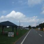 Oneness Camp 2012 駐車場 シャトルバス乗り場
