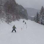 スキー旅行 インストラクター
