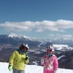 スキーレッスン ブランシュたかやま山頂