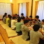 修学旅行 夕食