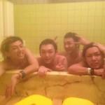 長野お泊りライブ 5人風呂 大人の修学旅行