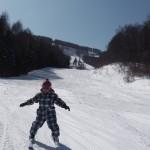 スキーレッスン ひろあき君