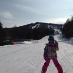 ちかちゃん スキーデビュー
