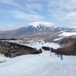 車山高原スキー場 クロスコース