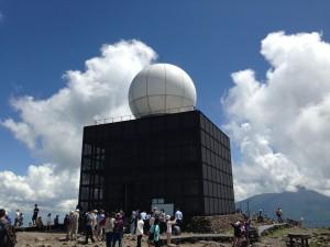 車山高原 気象レーダー