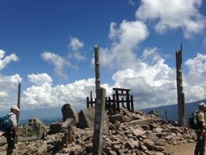 車山山頂 車山神社