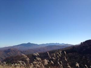 三峰山付近から八ヶ岳