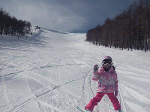 無料スキーレッスン ゆかりちゃん