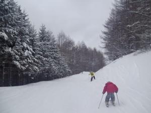 無料スキーレッスン