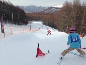地元小学生 スキー教室