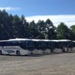 修学旅行生 名鉄バス